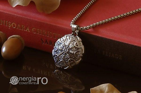 Pandant-Amuleta-Talisman-Colier-Medalion-Pandantiv-Roata-Norocului-Soare-Solar-INOX-PND108-03