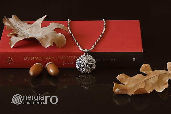 Pandant-Amuleta-Talisman-Colier-Medalion-Pandantiv-Roata-Norocului-Soare-Solar-INOX-PND108-04