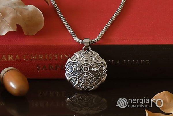 Pandant-Amuleta-Talisman-Colier-Medalion-Pandantiv-Roata-Norocului-Soare-Solar-INOX-PND108-05