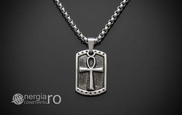 Pandant-Amuleta-Talisman-Medalion-Colier-Pandantiv-Ankh-INOX-PND068-01
