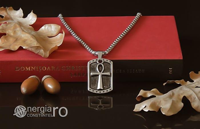 Pandant-Amuleta-Talisman-Medalion-Colier-Pandantiv-Ankh-INOX-PND068-05
