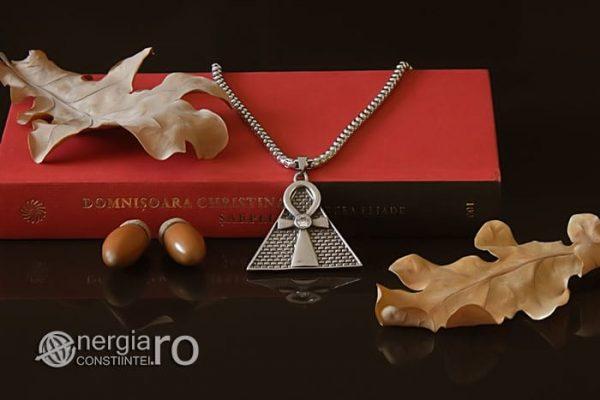 Pandant-Amuleta-Talisman-Medalion-Colier-Pandantiv-Ankh-Piramida-INOX-PND065-05