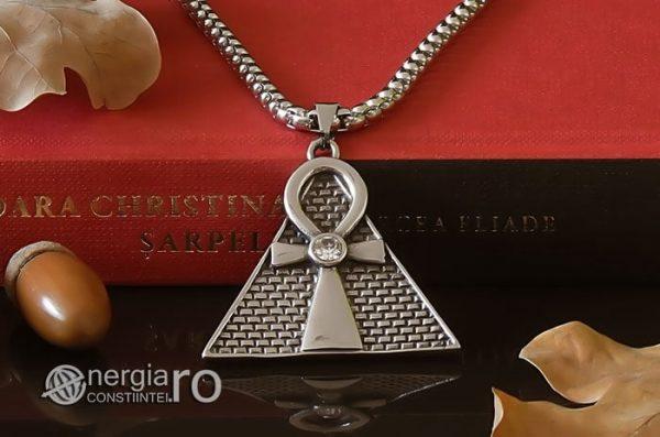 Pandant-Amuleta-Talisman-Medalion-Colier-Pandantiv-Ankh-Piramida-INOX-PND065-06