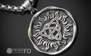 Pandant-Amuleta-Talisman-Medalion-Colier-Pandantiv-Triquetra-INOX-PND048-00