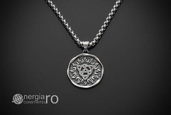 Pandant-Amuleta-Talisman-Medalion-Colier-Pandantiv-Triquetra-INOX-PND048-01