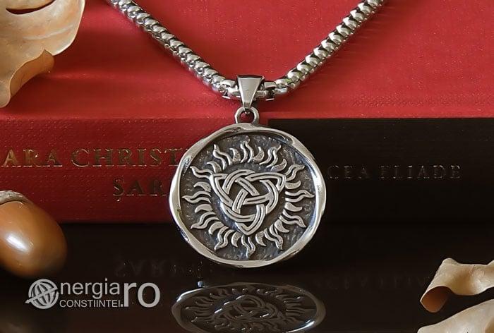 Pandant-Amuleta-Talisman-Medalion-Colier-Pandantiv-Triquetra-INOX-PND048-06