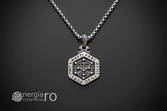 Pandant-Amuleta-Talisman-Pandantiv-Copacul-Vietii-Ebraic-INOX-PND160-01