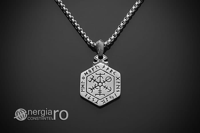 Pandant-Amuleta-Talisman-Pandantiv-Copacul-Vietii-Ebraic-INOX-PND160-02