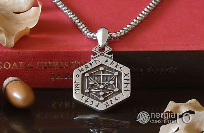 Pandant-Amuleta-Talisman-Pandantiv-Copacul-Vietii-Ebraic-INOX-PND160-06