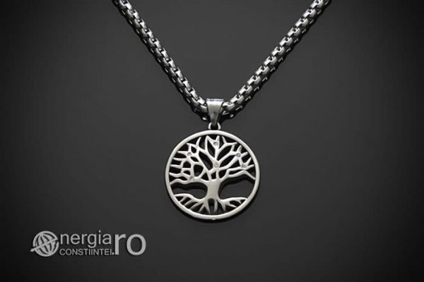 Pandant-Amuleta-Talisman-Pandantiv-Pomul-Arborele-Copacul-Vietii-INOX-PND141-01