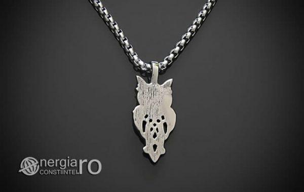 Pandant-Pandantiv-Amuleta-Talisman-Medalion-Colier-Bufnita-INOX-PND145-02