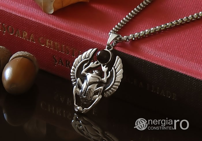 Pandant-Pandantiv-Amuleta-Talisman-Medalion-Colier-Scarabeu-Egiptean-Protector-Protectie-INOX-PND165-04