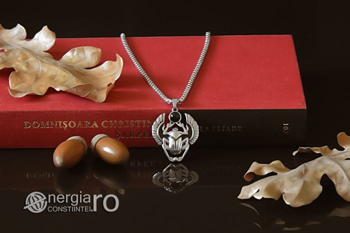 Pandant-Pandantiv-Amuleta-Talisman-Medalion-Colier-Scarabeu-Egiptean-Protector-Protectie-INOX-PND165-05
