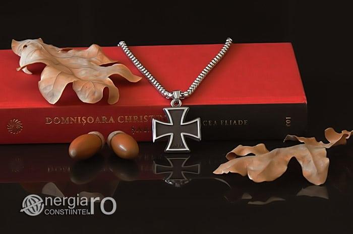 Pandant-Amuleta-Talisman-Medalion-Colier-Pandantiv-Crucea-Malteza-Crucea-de-Fier-INOX-PND072-04
