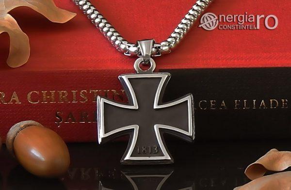 Pandant-Amuleta-Talisman-Medalion-Colier-Pandantiv-Crucea-Malteza-Crucea-de-Fier-INOX-PND072-05