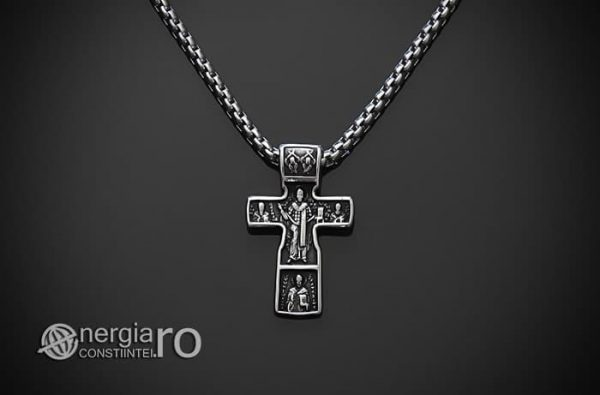 Pandant-Amuleta-Talisman-Medalion-Colier-Pandantiv-Cruciulita-Cruce-Crucifix-Iisus-INOX-PND185-02