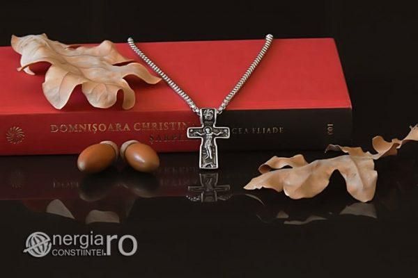 Pandant-Amuleta-Talisman-Medalion-Colier-Pandantiv-Cruciulita-Cruce-Crucifix-Iisus-INOX-PND185-05