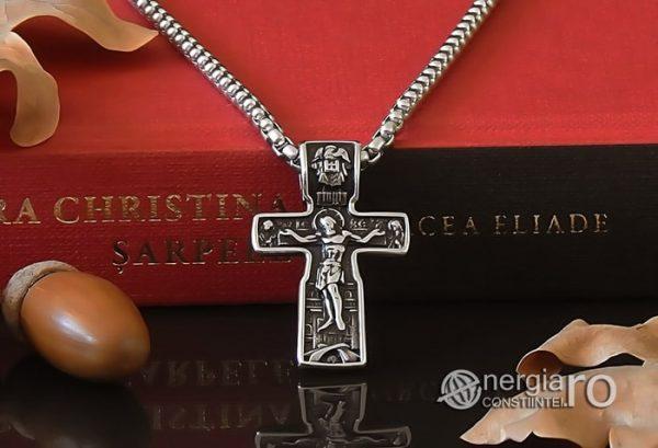 Pandant-Amuleta-Talisman-Medalion-Colier-Pandantiv-Cruciulita-Cruce-Crucifix-Iisus-INOX-PND185-06