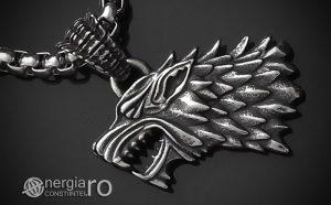 Pandant-Amuleta-Talisman-Medalion-Colier-Pandantiv-Lup-Dacic-Dracon-Dacic-INOX-PND172-00
