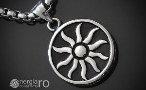 Pandant-Amuleta-Talisman-Medalion-Colier-Pandantiv-Soare-Simbol-Solar-INOX-PND175-00