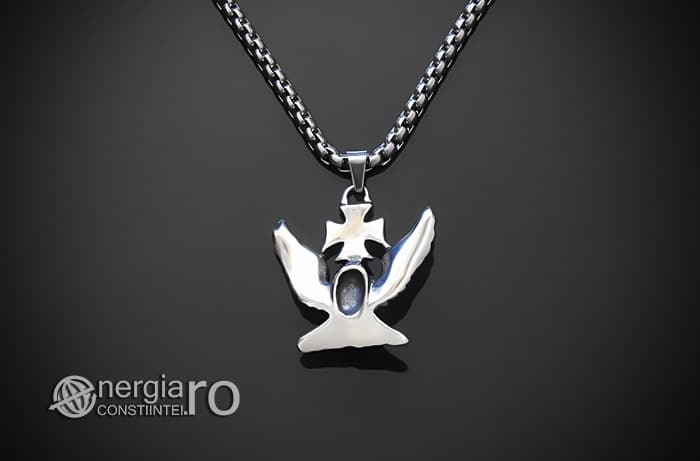 Pandant-Amuleta-Talisman-Medalion-Colier-Pandantiv-Vultur-Crucea-Malteza-Crucea-De-Fier-PND180-02