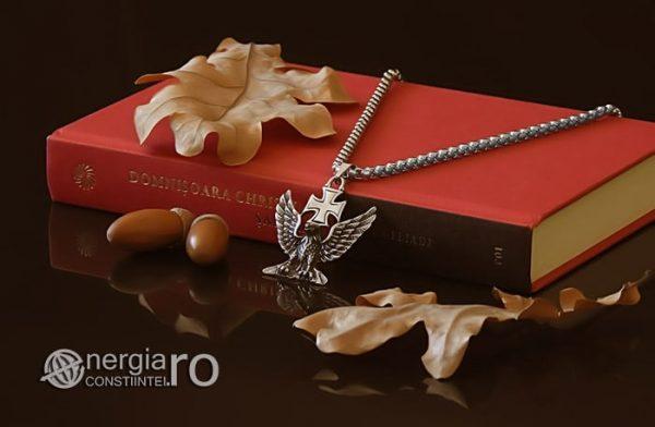 Pandant-Amuleta-Talisman-Medalion-Colier-Pandantiv-Vultur-Crucea-Malteza-Crucea-De-Fier-PND180-03
