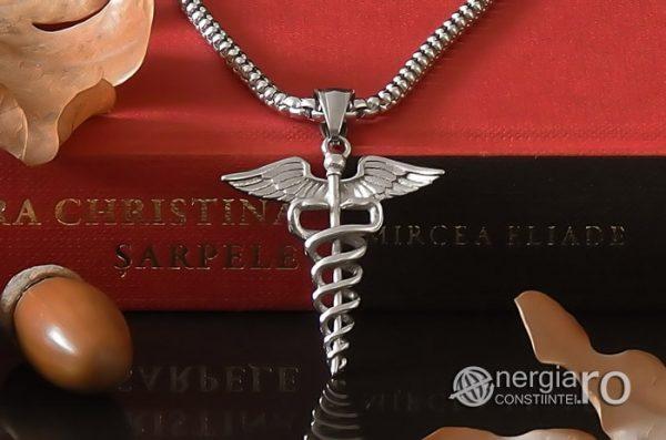 Pandant-Pandantiv-Amuleta-Talisman-Medalion-Colier-Caduceu-INOX-PND200-06
