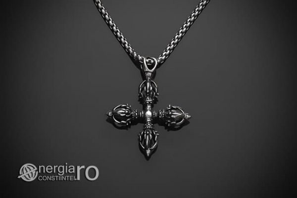 pandant-pandantiv-amuleta-talisman-medalion-colier-crucea-vajra-dublu-dorje-inox-pnd190-01