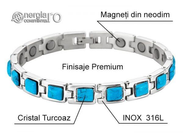Bratara-Magnetica-Terapeutica-Energetica-Medicinala-Cristal-Turcoaz-INOX-BRA018-06