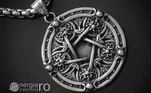 Amuleta-Pandantiv-Medalion-Talisman-Colier-Pandant-Pentagrama-Pentaclu-INOX-PND215-00