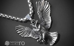 Amuleta-Talisman-Medalion-Colier-Pandant-Pandantiv-Bufnita-INOX-PND146-00