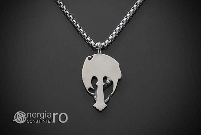 Amuleta-Talisman-Medalion-Colier-Pandant-Pandantiv-Cruce-Crucifix-Cruciulita-Sarpe-Dragon-Incolacit-INOX-PND220-02