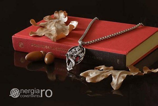 Amuleta-Talisman-Medalion-Colier-Pandant-Pandantiv-Cruce-Crucifix-Cruciulita-Sarpe-Dragon-Incolacit-INOX-PND220-03