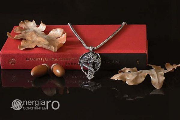 Amuleta-Talisman-Medalion-Colier-Pandant-Pandantiv-Cruce-Crucifix-Cruciulita-Sarpe-Dragon-Incolacit-INOX-PND220-05