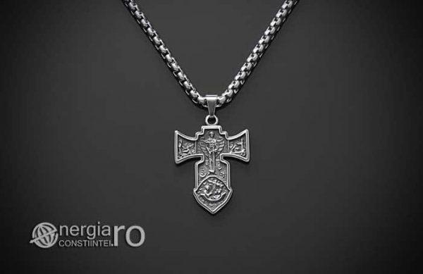 Pandant-Amuleta-Talisman-Medalion-Colier-Pandantiv-Cruciulita-Cruce-Crucifix-Iisus-INOX-PND186-02