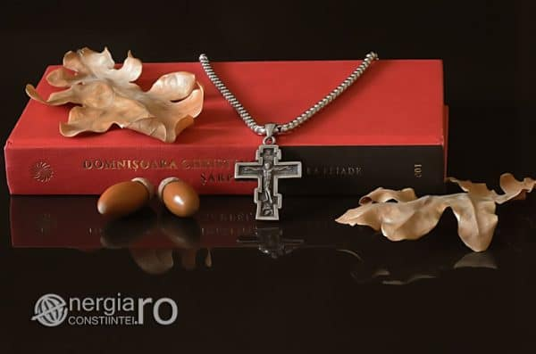Amuleta-Talisman-Medalion-Colier-Pandant-Pandantiv-Cruce-Cruciulita-Crucifix-Iisus-Cristos-Christos-Hristos-INOX-PND187-05