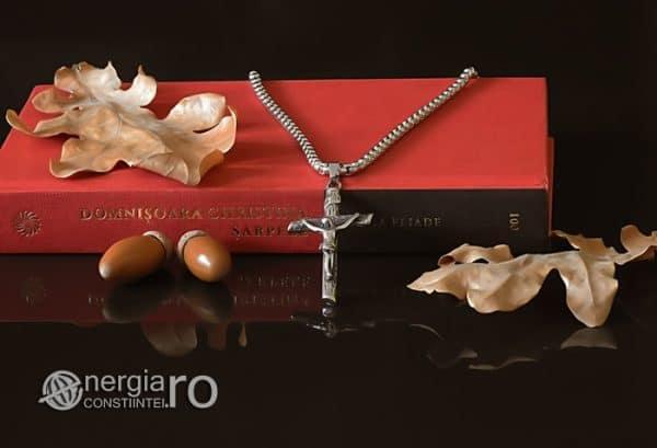 Amuleta-Talisman-Medalion-Colier-Pandant-Pandantiv-Cruce-Cruciulita-Crucifix-Iisus-Cristos-Christos-Hristos-INOX-PND188-04