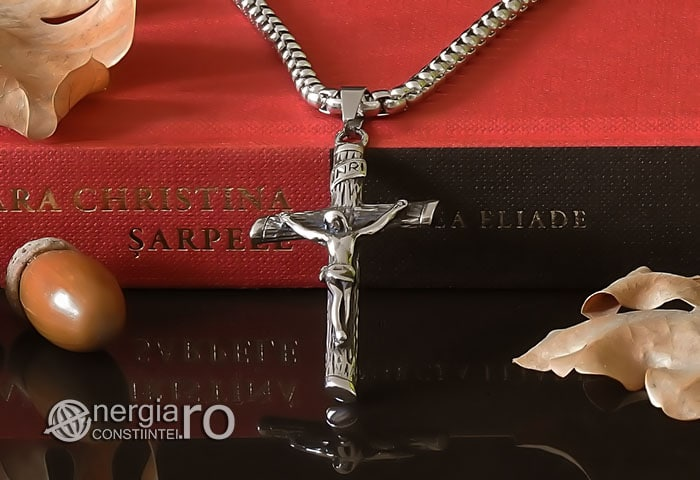 Amuleta-Talisman-Medalion-Colier-Pandant-Pandantiv-Cruce-Cruciulita-Crucifix-Iisus-Cristos-Christos-Hristos-INOX-PND188-05