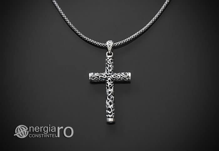 Amuleta-Talisman-Medalion-Colier-Pandant-Pandantiv-Cruciulita-Cruce-Crucifix-Argint-925-PND905-01