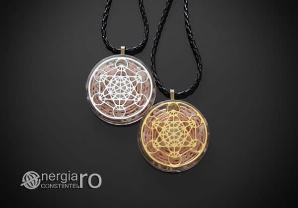 Amuleta-Talisman-Medalion-Colier-Pandant-Pandantiv-Orgon-Orgonic-Cubul-Lui-Metatron-Cristale-Cuart-De-Stanca-ORG012-01