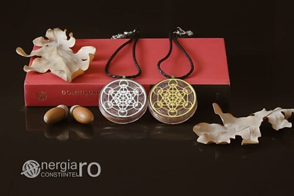 Amuleta-Talisman-Medalion-Colier-Pandant-Pandantiv-Orgonic-Orgon-Magnetic-Cubul-Lui-Metatron-Cristale-Ametist-ORG013-05