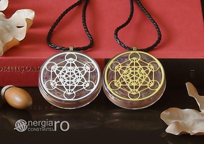 Amuleta-Talisman-Medalion-Colier-Pandant-Pandantiv-Orgonic-Orgon-Magnetic-Cubul-Lui-Metatron-Cristale-Ametist-ORG013-06