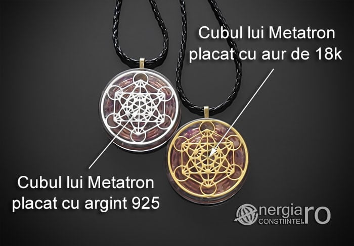 Amuleta-Talisman-Medalion-Colier-Pandant-Pandantiv-Orgonic-Orgon-Magnetic-Cubul-Lui-Metatron-Cristale-Ametist-ORG013-07