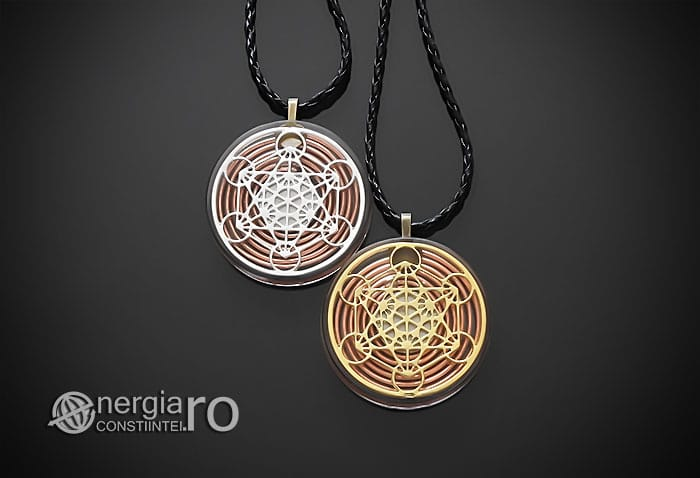 Amuleta-Talisman-Medalion-Colier-Pandant-Pandantiv-Orgonic-Orgon-Magnetic-Cubul-Lui-Metatron-Spirala-Cupru-Protectie-Protector-Protectoare-ORG014-01