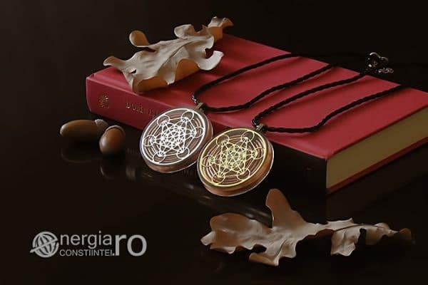 Amuleta-Talisman-Medalion-Colier-Pandant-Pandantiv-Orgonic-Orgon-Magnetic-Cubul-Lui-Metatron-Spirala-Cupru-Protectie-Protector-Protectoare-ORG014-03
