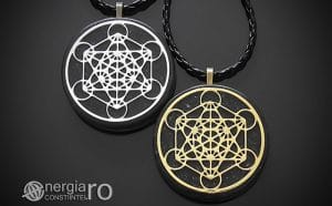Amuleta-Talisman-Medalion-Colier-Pandant-Pandantiv-Orgonic-Orgon-Magnetic-Cubul-lui-Metatron-Cenusa-Vulcanica-Turmalina-ORG015-00