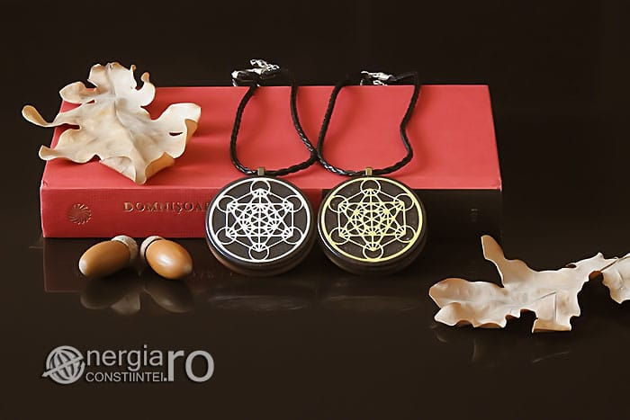 Amuleta-Talisman-Medalion-Colier-Pandant-Pandantiv-Orgonic-Orgon-Magnetic-Cubul-lui-Metatron-Cenusa-Vulcanica-Turmalina-ORG015-05
