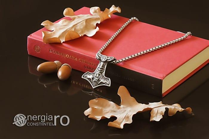 Amuleta-Talisman-Medalion-Colier-Pandant-Pandantiv-Ciocanul-lui-Thor-Protectie-Protector-Protectoere-INOX-PND151-03