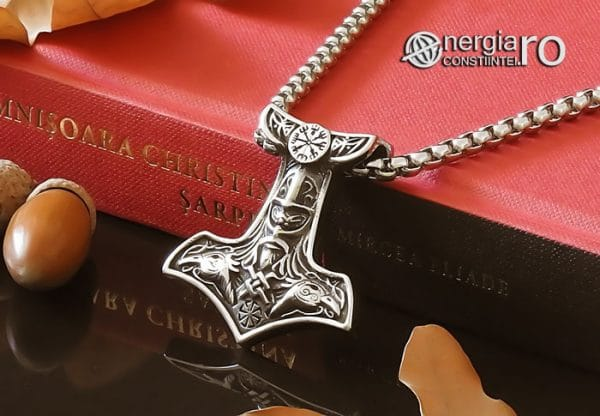 Amuleta-Talisman-Medalion-Colier-Pandant-Pandantiv-Ciocanul-lui-Thor-Protectie-Protector-Protectoere-INOX-PND151-04