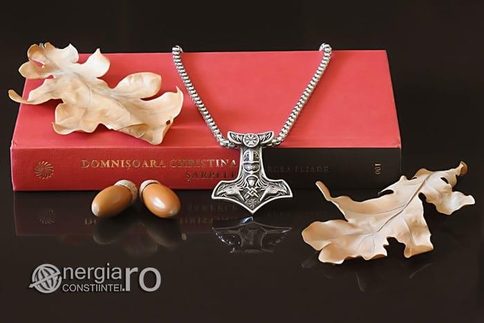 Amuleta-Talisman-Medalion-Colier-Pandant-Pandantiv-Ciocanul-lui-Thor-Protectie-Protector-Protectoere-INOX-PND151-06
